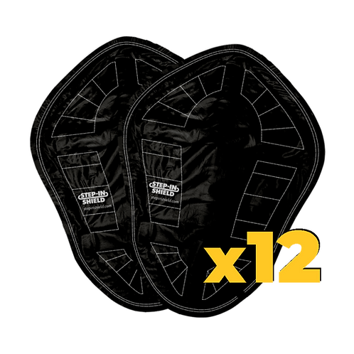 STEP-IN SHIELD (PAIR) -BUNDLE OF 12(Limited Supply)
