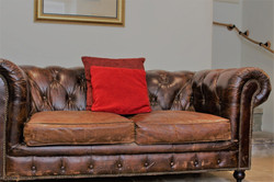 Relax on our cosy sofa!
