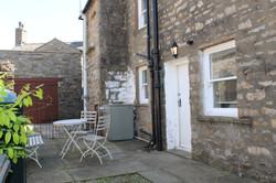 Enclosed 'dog friendly' courtyard