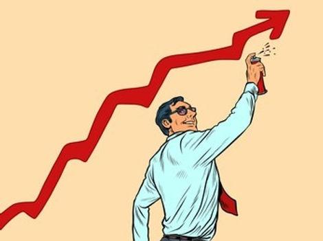 businessman-draws-graffiti-sales-growth-