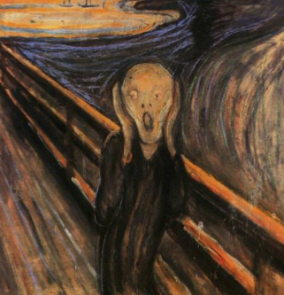 Meditation, yes. But first: THE SCREAM