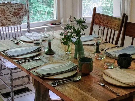 Dinner Plates and the Death Penalty