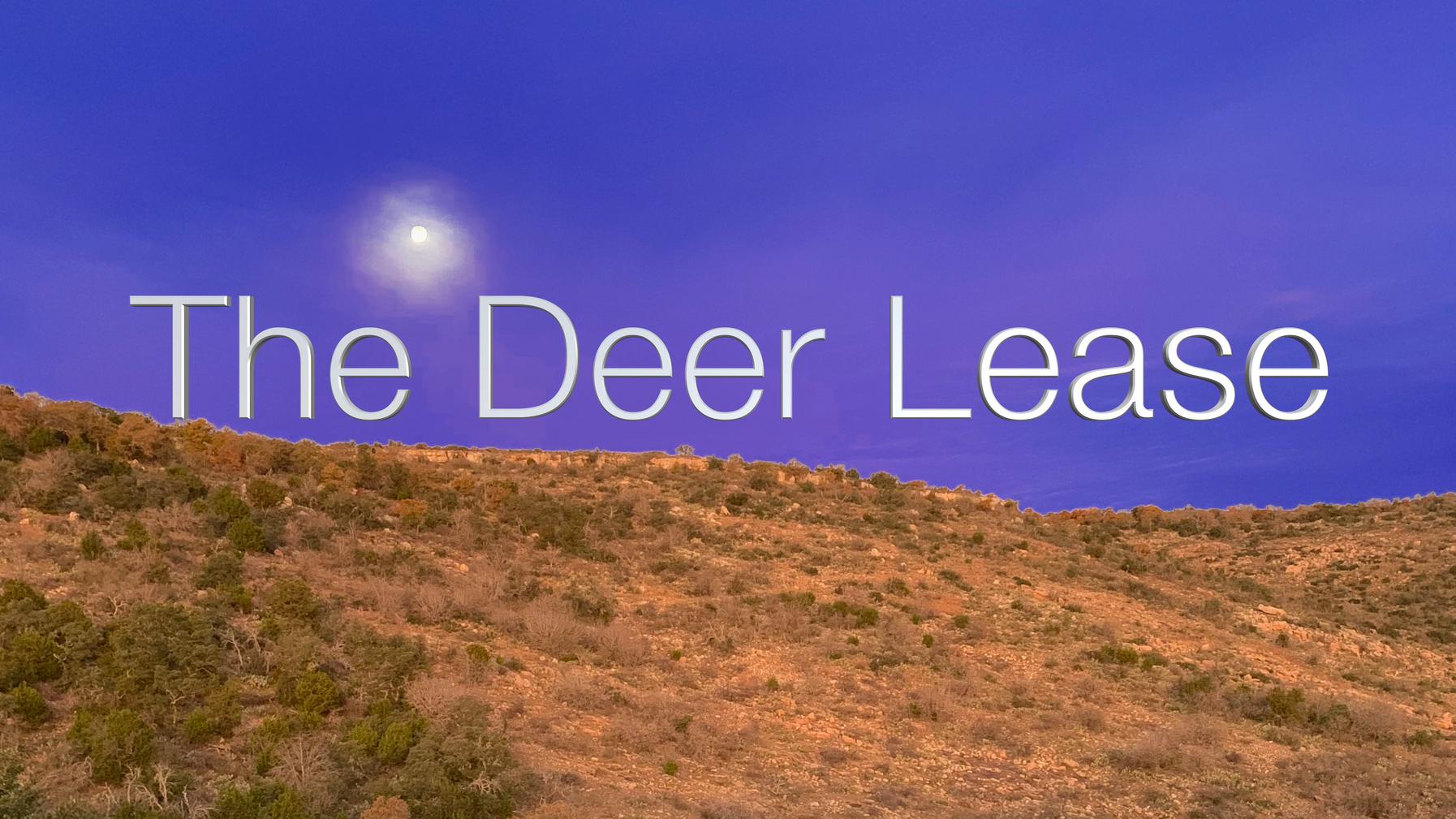 Deer Lease Aerial Tour
