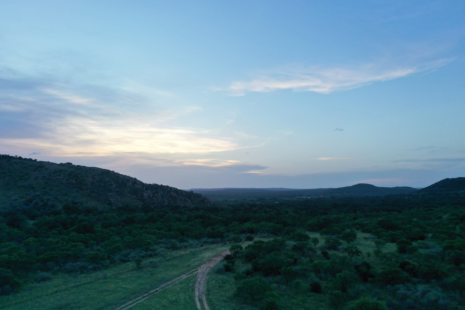Sunset in the Hill Country