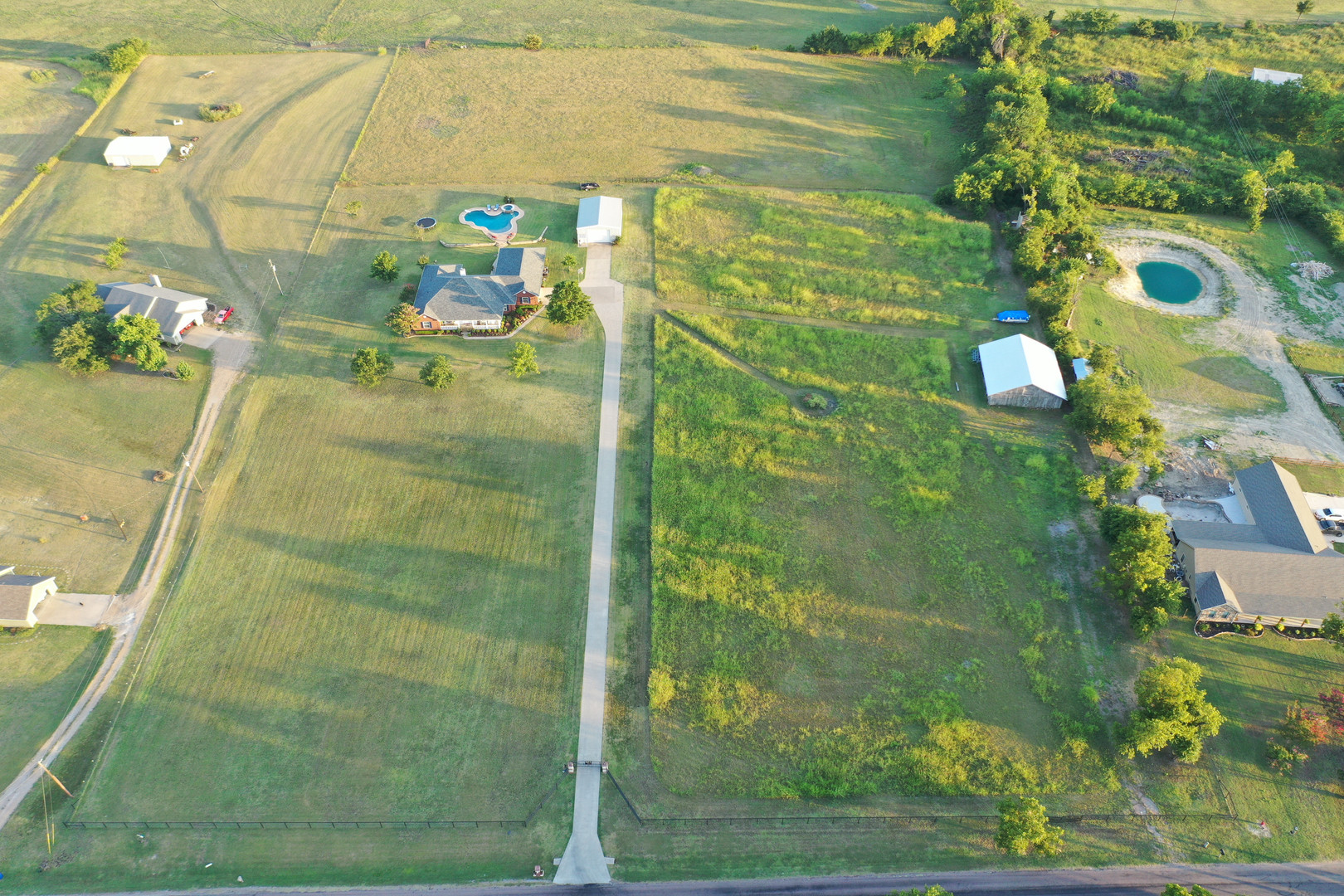 Aerial Shot - House and Lot