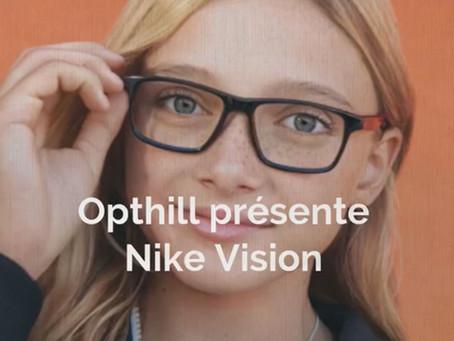 Opthill présente Nike Vision