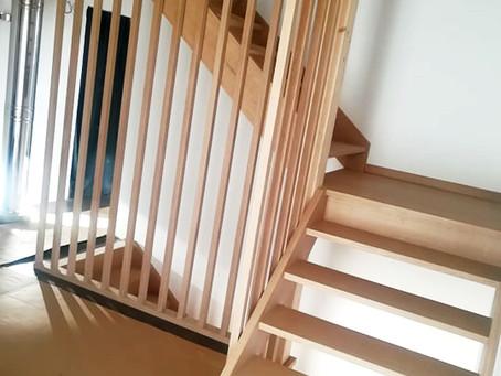 Réalisation d'un escalier sur-mesure