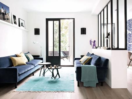 5 manières de placer un canapé dans votre salon