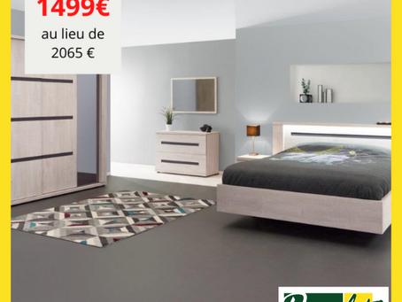 Chambre complète : 1499€ au lieu de 2065€