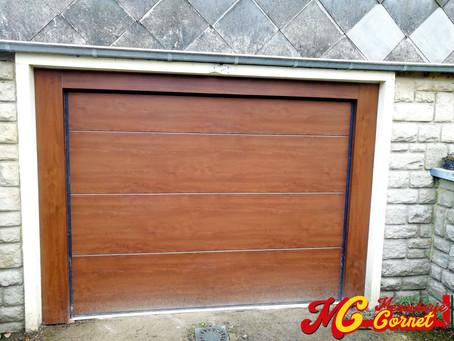Réalisation : Porte de garage