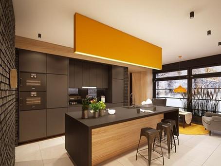 Du bois foncé dans la cuisine : Inspiration