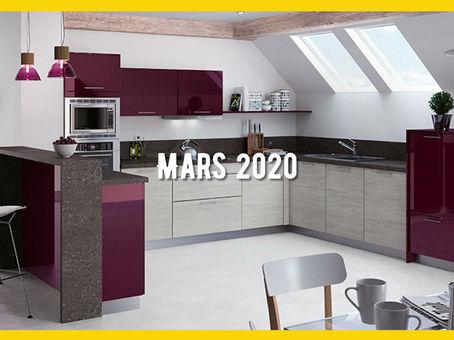 Inspiration Cuisines - Mars 2020
