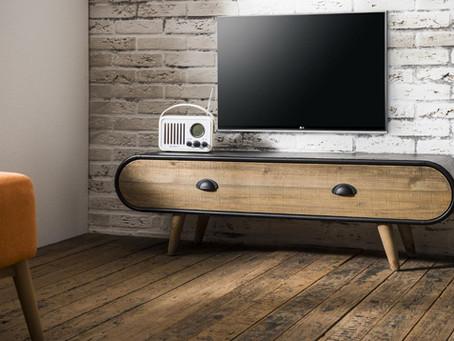 Style industriel : Sélection de meubles TV