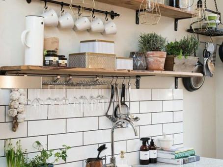 Des plantes vertes dans ma cuisine (source d'inspiration)