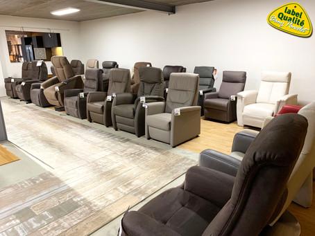 Promotion sur tous les fauteuils de relaxation