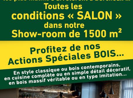 Conditions Salon jusqu'au 8 mars 2020