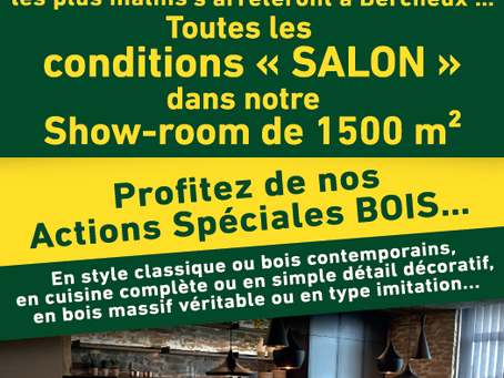 Conditions Salon jusqu'au 8 mars 2020