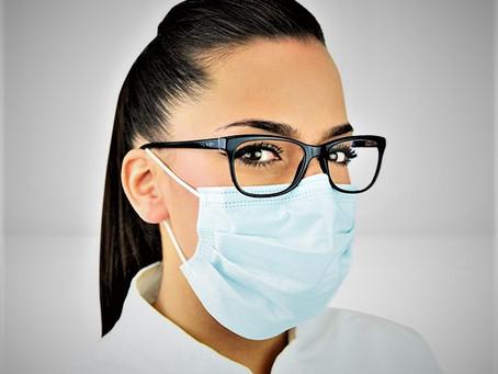 Évitez la buée sur vos lunettes lorsque vous portez un masque de protection