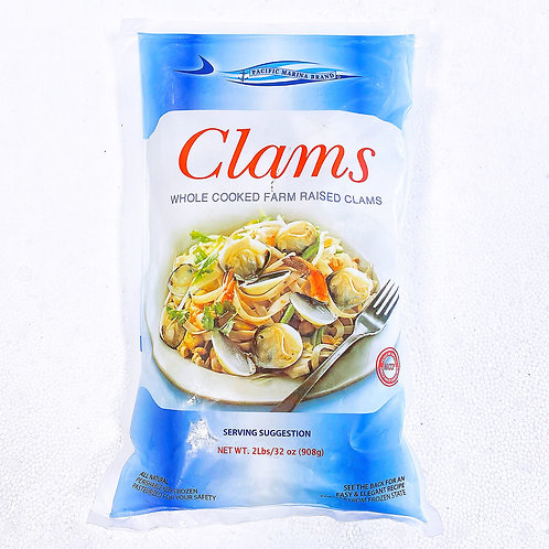 White Cooked Clam,   2 lb