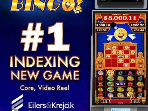 Cashman Bingo #1 Indexing NEW Game - Core, Video Reel - March 2021