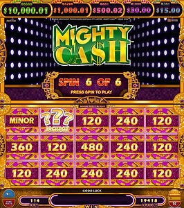 MC Vegas Wins_Mighty Cash Feat6_RevealSy