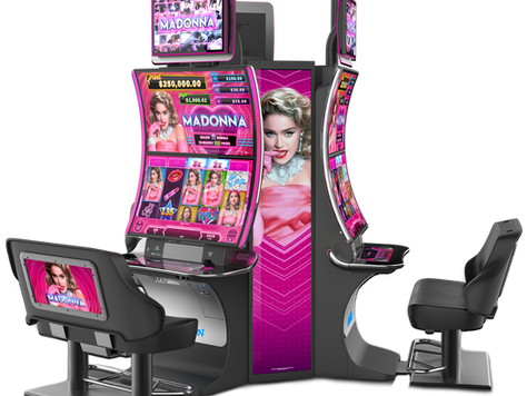 Madonna Slot Game -- ARISTOCRAT