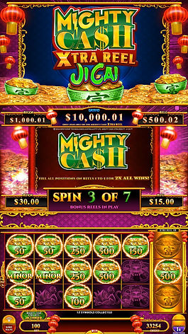 Mighty Cash Xtra Reel