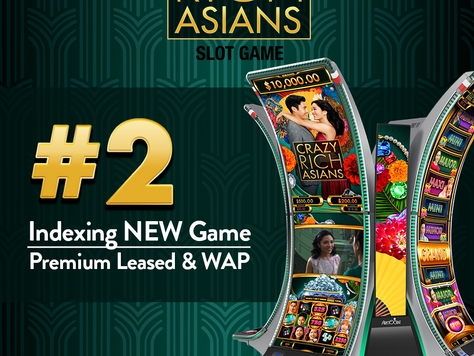 Crazy Rich Asians Slot Game #2 Indexing NEW Game - Premium Leased & WAP - April 2021