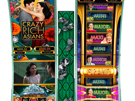 Box Office Hit, Crazy Rich Asians™ - is brought to the NEW Neptune Double Cabinet