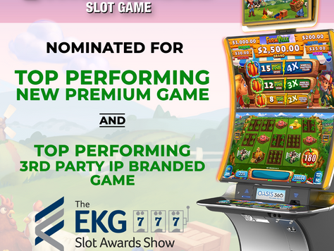 """FarmVille Slot Game Nominated for a 2020 EKG Slot Award"""