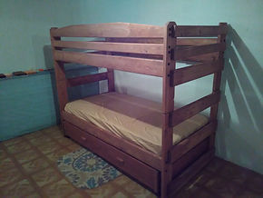 Stackable Bunk Bed with Storage Drawer