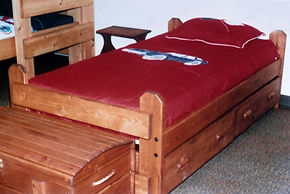 Captains Bed with Drawer
