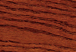 Sedona Red Colored Stain