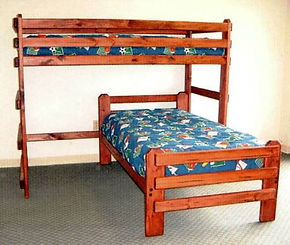 L-Shape Bunk Bed