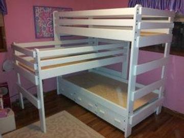 Triple Bunk Bed (L-shape)
