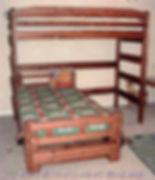 L-Shape Bunk Bed