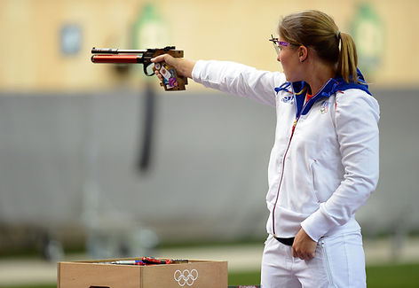Celine+Goberville+Olympics+Day+2+Shootin