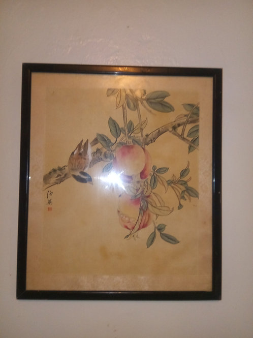 Rare antique Japanese print