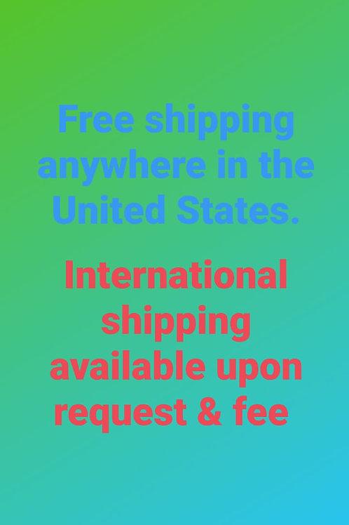 Free U.S shipping