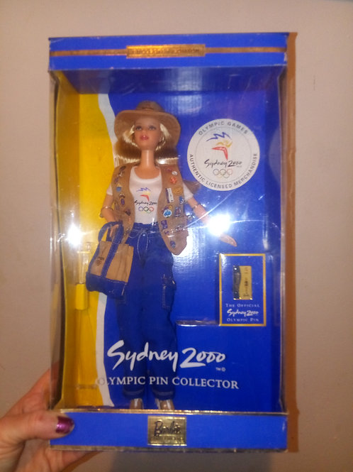 2000 Sydney Olympics Barbie still in box