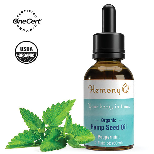 Hemony Organic Hemp Seed Oil (1oz)