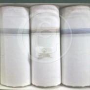 Pañuelos 100% algodón color blanco