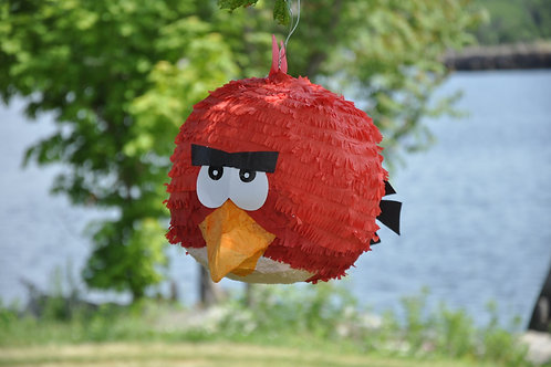 Red Angry Bird Pinata