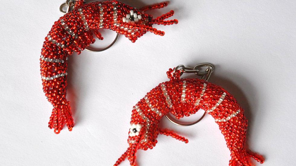 Shrimp Keychains