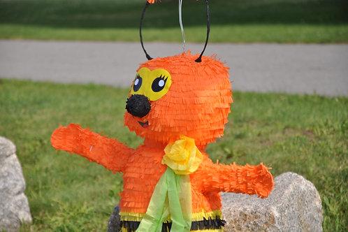 Annie The Orange Bee Pinata