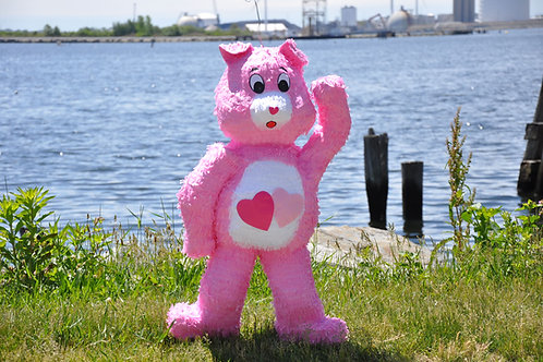 Pink Care Bear Pinata
