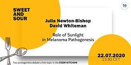 Role of Sunlight in Melanoma Pathogenesis