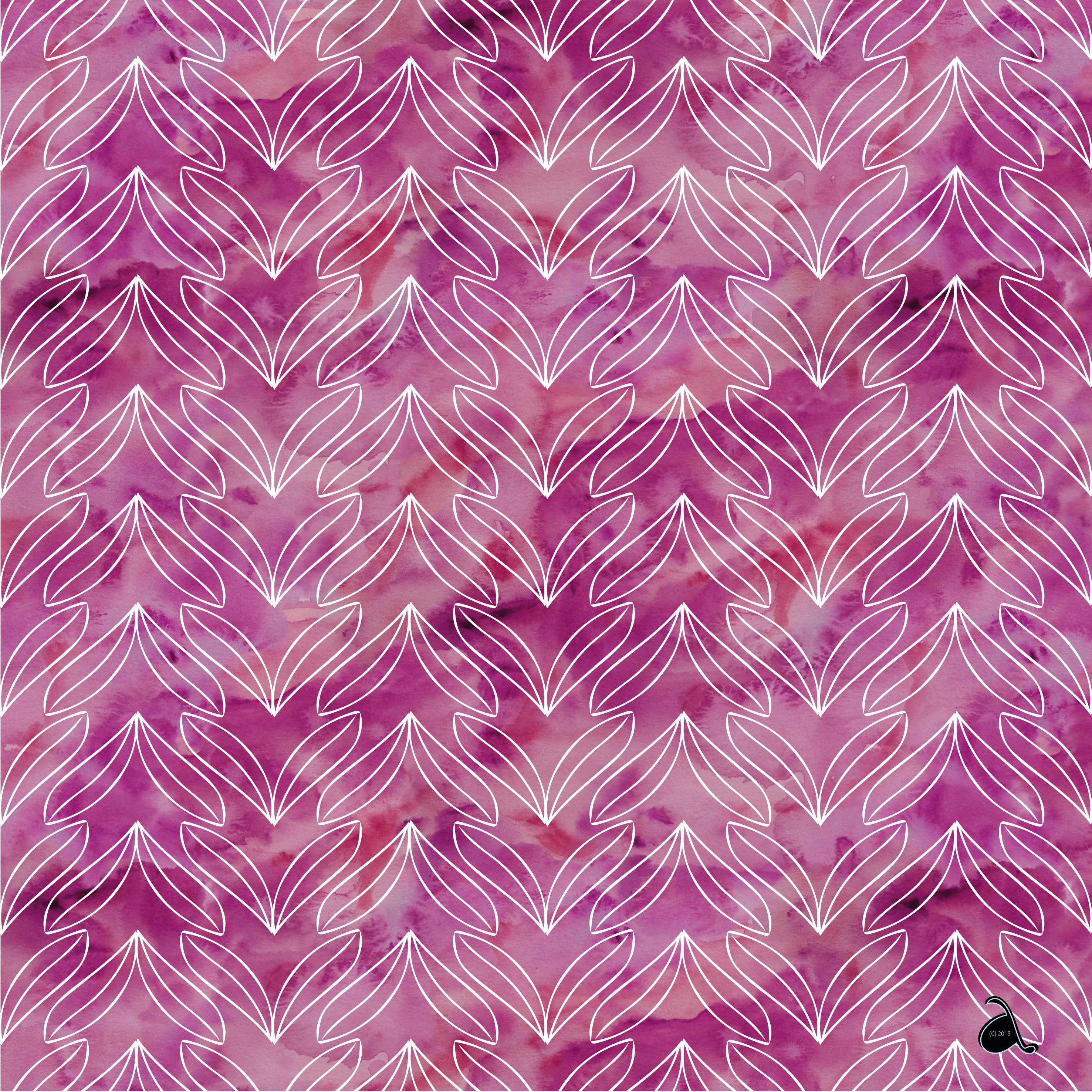 Maigloeckchen Leaf Pattern