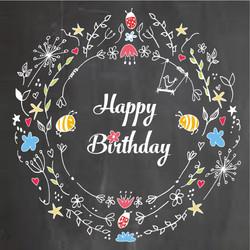 Happy Birthday Wreat