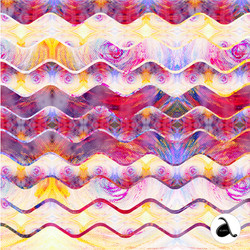 Psychedelic Summer Waves